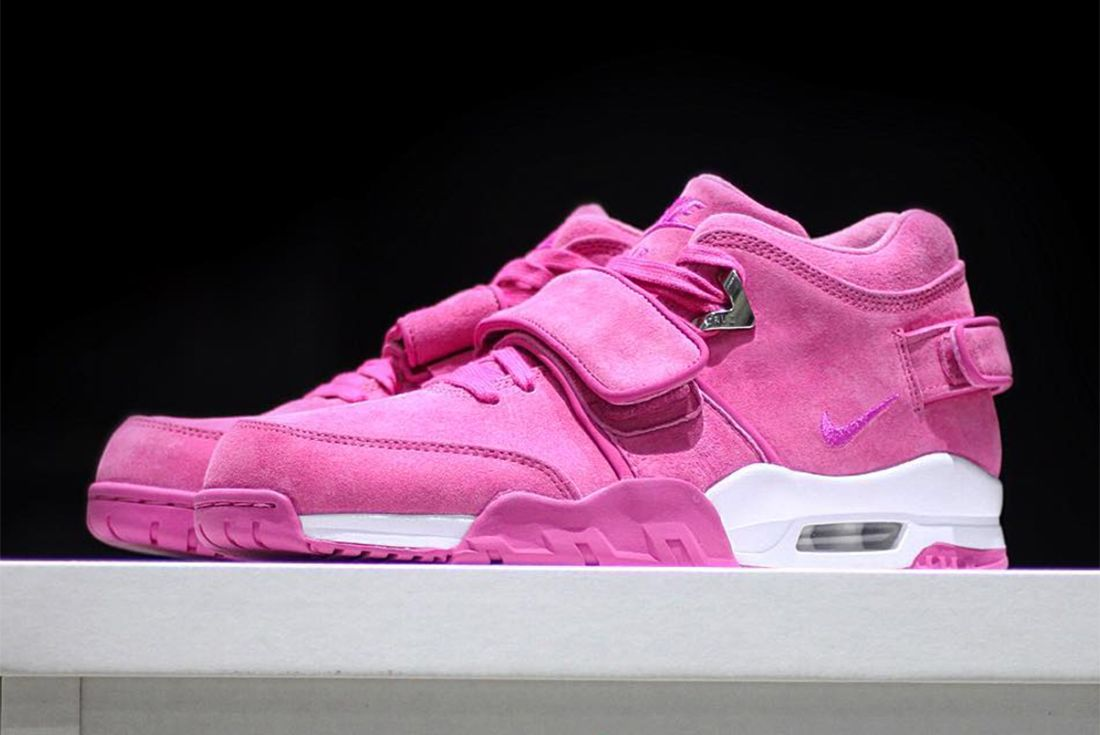 Sneaker Room X Nike Air Trainer Cruz Sr Ls Pink Fire