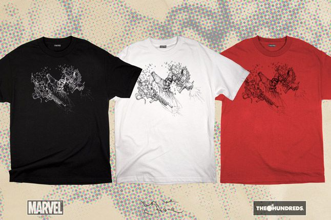 The Hundreds X Punisher Dave Choe Collection 1