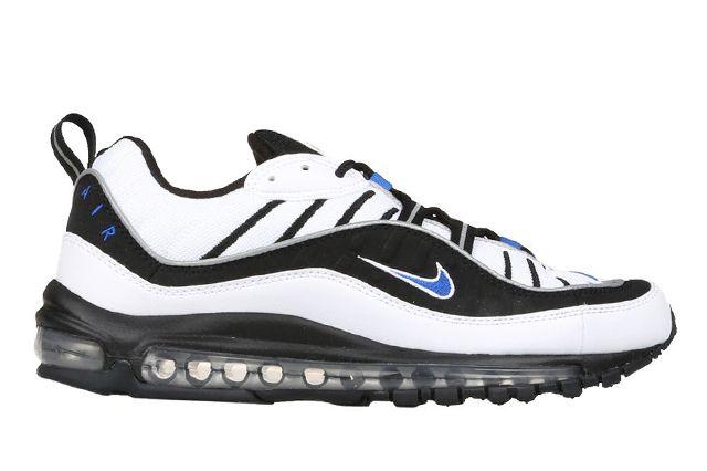 Nike Air Max 98 Hyper Cobalt Black