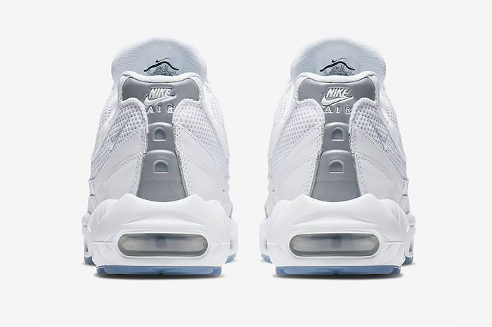 Nike Air Max 95 Essential White 749766 115 Heel