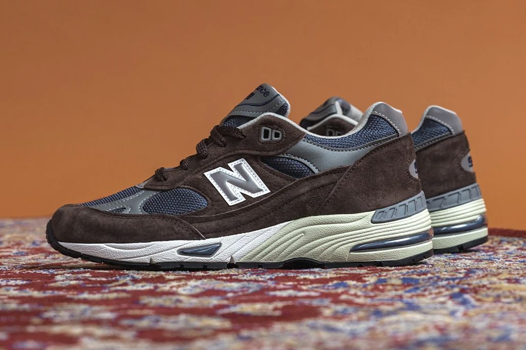 New Balance 991 Made in UK Brown/Blue