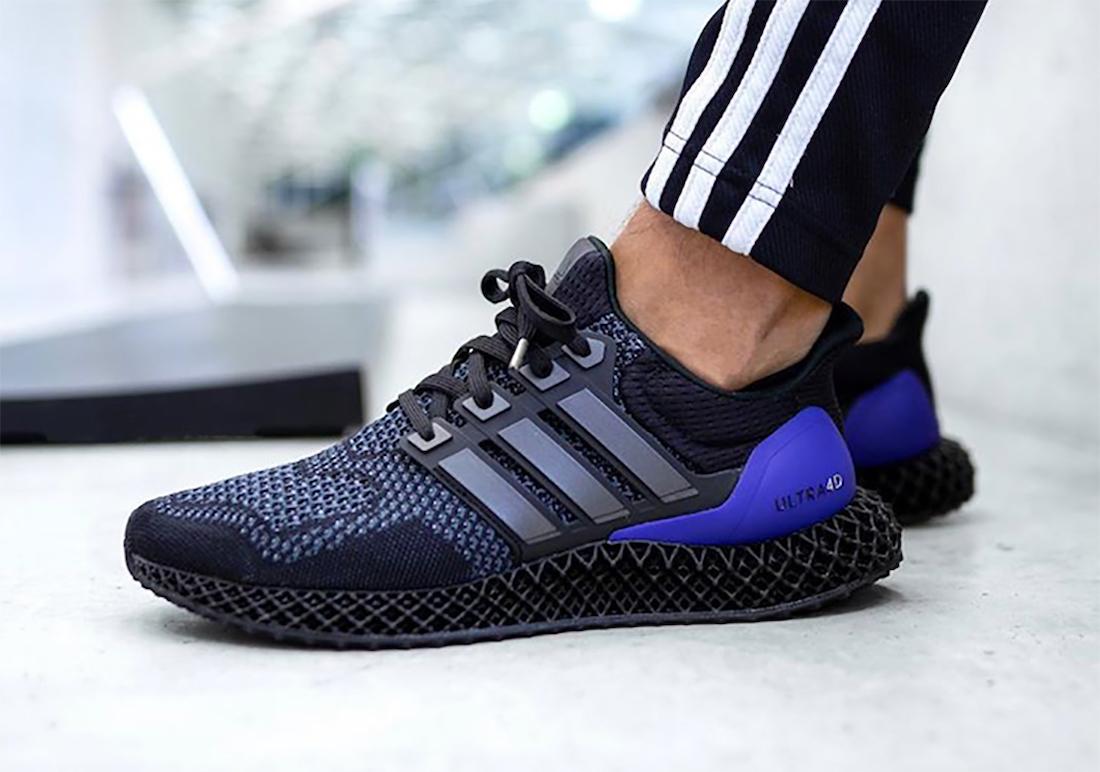 adidas Ultra 4D on foot