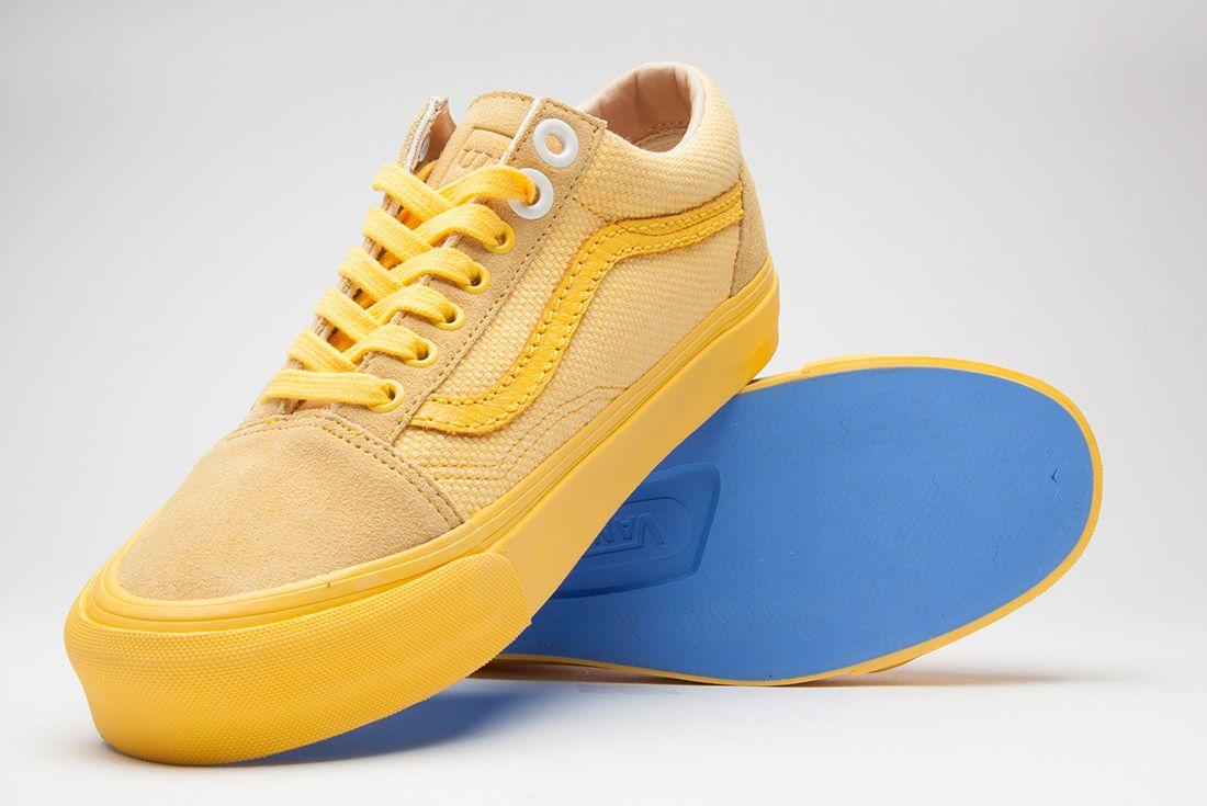 Union La Vans Old Skool Yellow