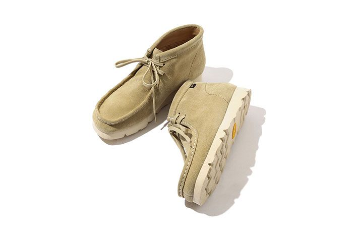 Clarks Beams Wallabee Gore Tex Sand