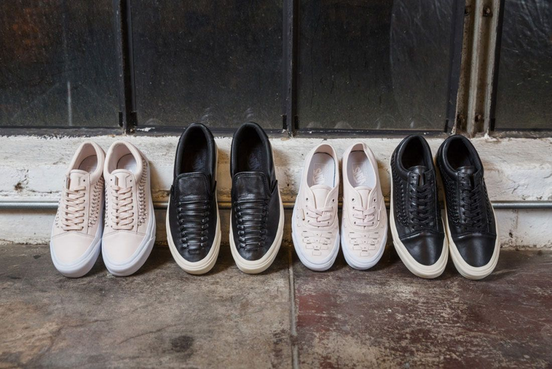 Vans Woven Leather Collection 12