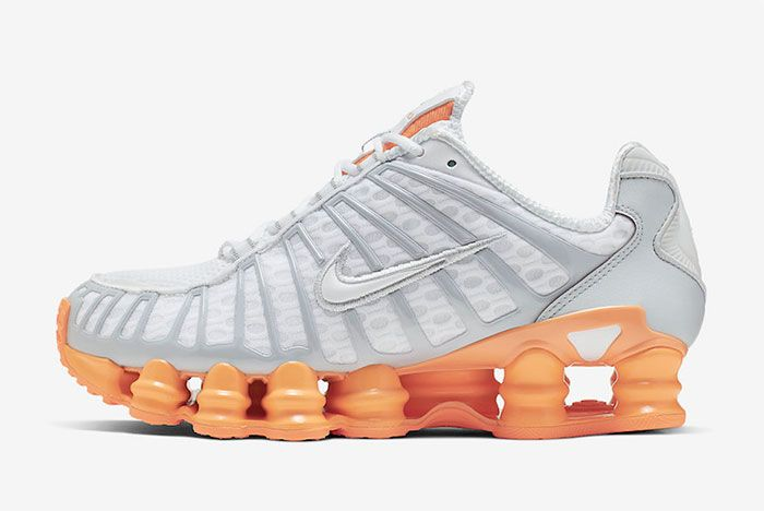 Nike Shox Tl Fuel Orange Left