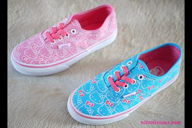 Hello Kitty Vans Summer 2012 04 1