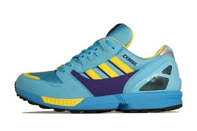 Adidas Zx 8000 Blue Yellow Profile 1