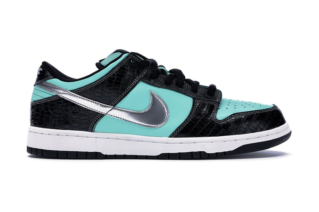 Diamond Supply Co Nike Sb Dunk Low Tiffany 304292 402 Lateral