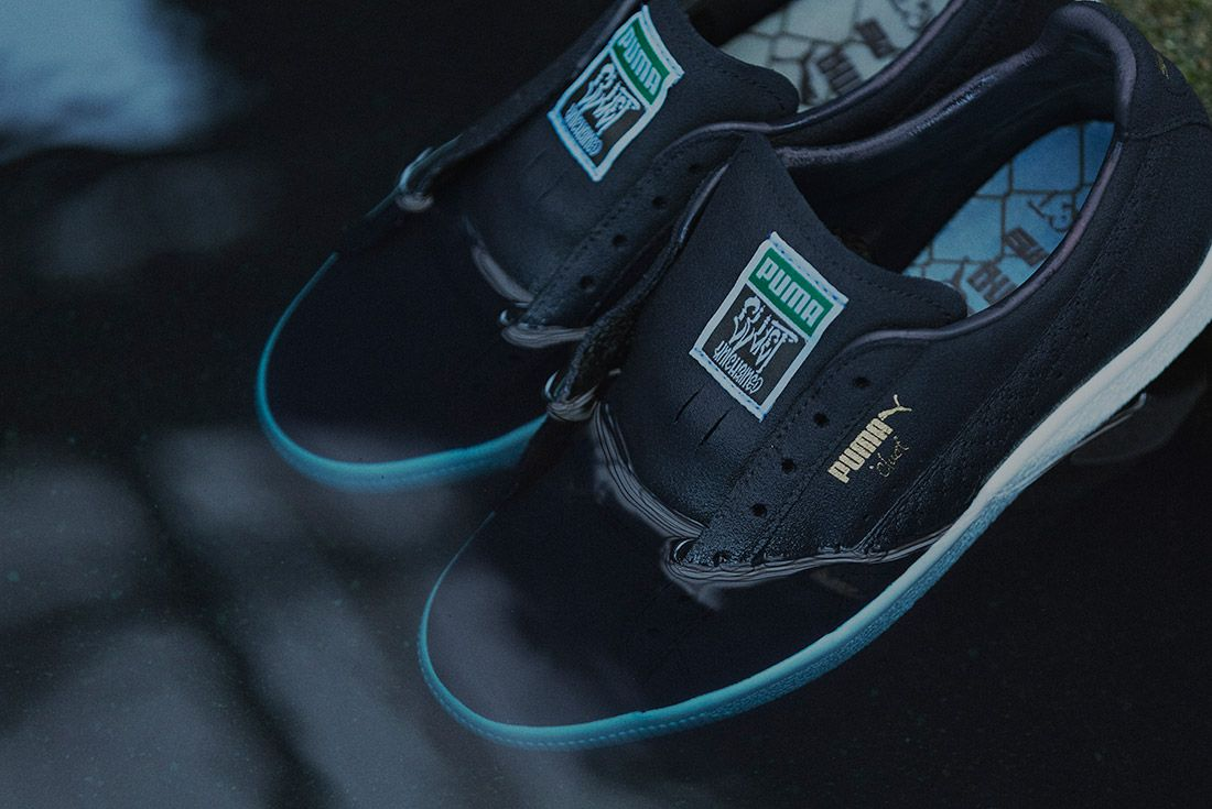 Cluct X Mita Sneakers X Puma Clyde Indigo 14