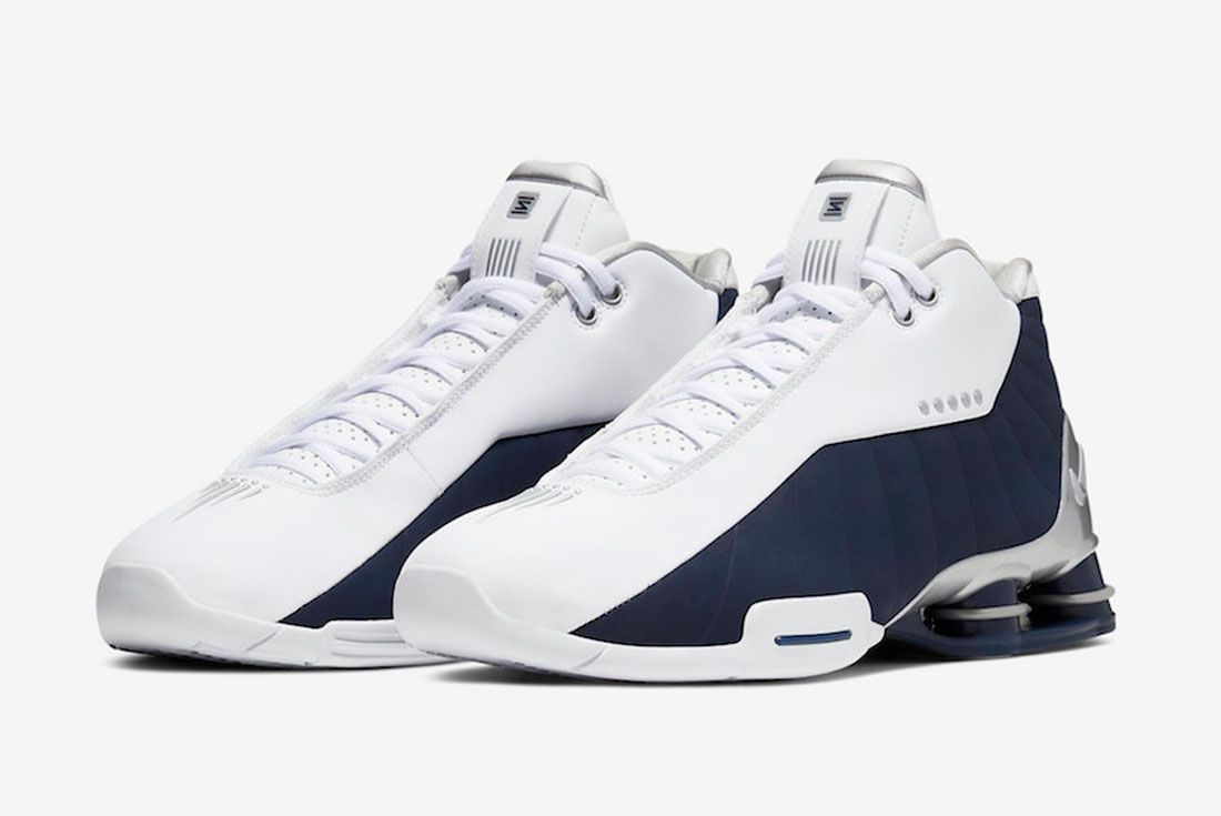 Nike Shox Bb4 Olympic 2019 At7843 100 Release Date 4 Pair