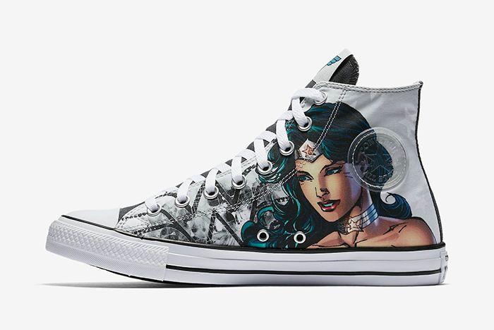 Wonder Woman Converse
