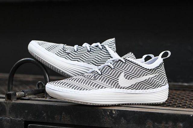 Nike Solarsoft Costa Kjcrd White Black 1