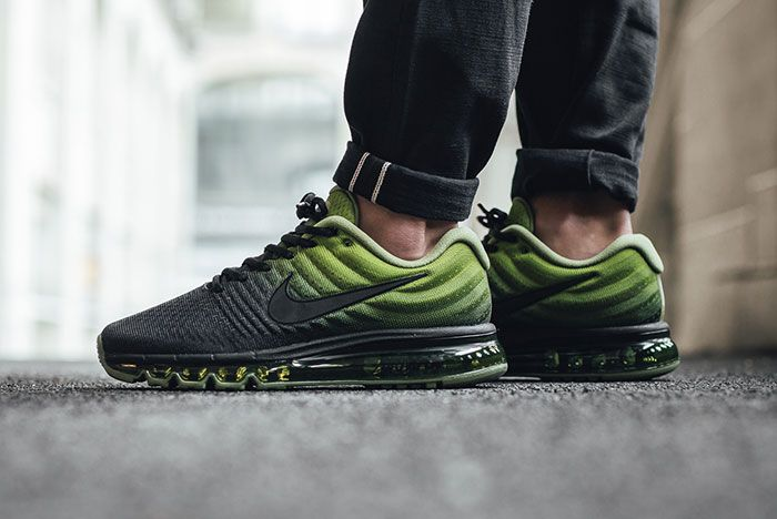 Nike Air Max 2017 Black Palm Green 1