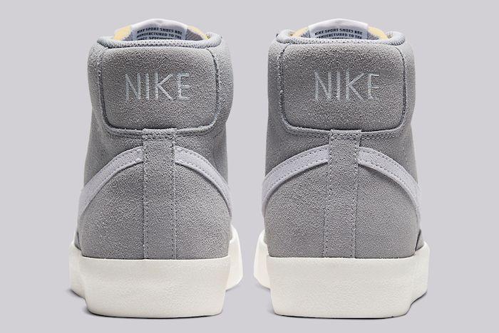 Nike Blazer Mid 77 Grey Suede 3
