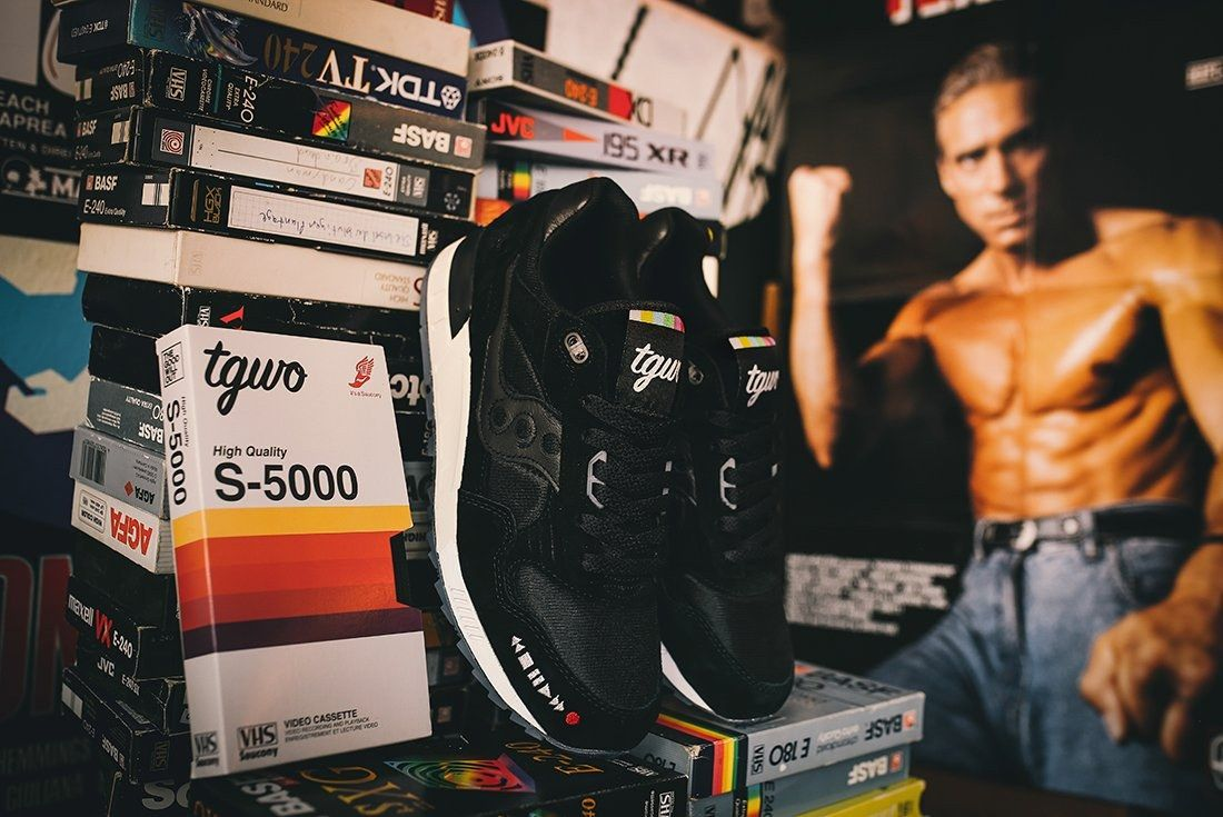 The Good Will Out X Saucony Shadow 5000 Vhs39