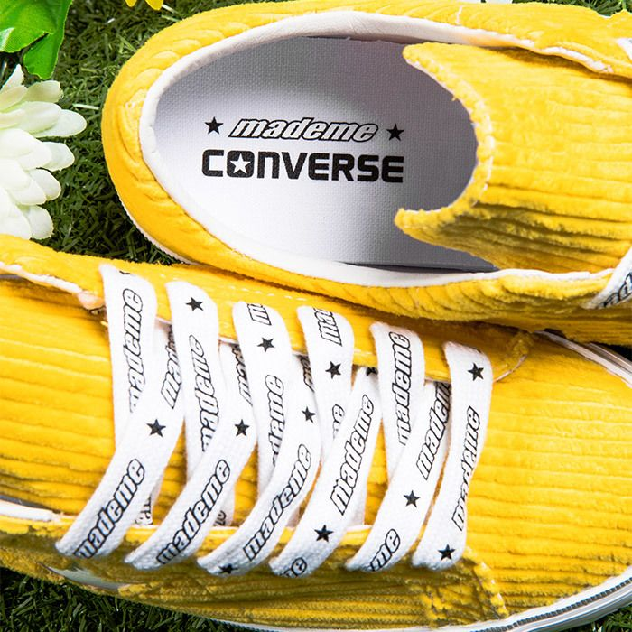 Converse Mademe Yellow Detail2