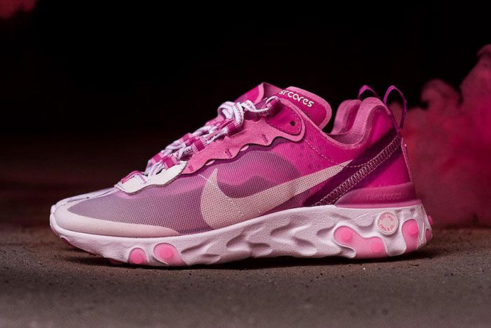 Sneaker Room Nike React Element 87 Pink Breast Cancer Release Date 3 Side