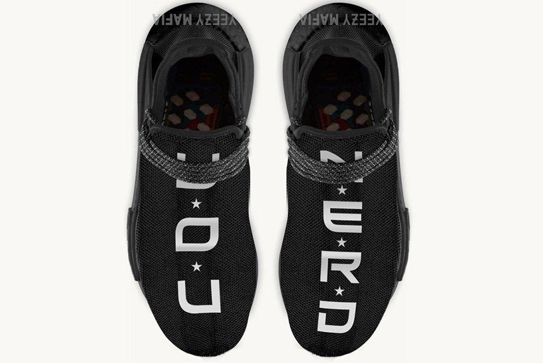 Pharrell Nerd Adidas Hu Nmd 1