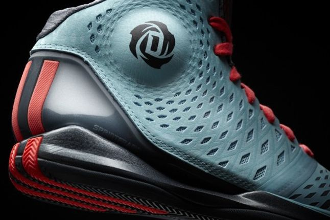 Adidas D Rose 3 Chi Town Ankle Detail 1