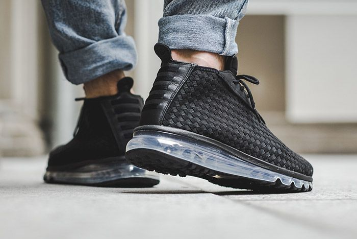 Nike Air Max Woven Boot Black 1