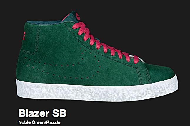Nike Noble Green Blazer Sb 2010 1