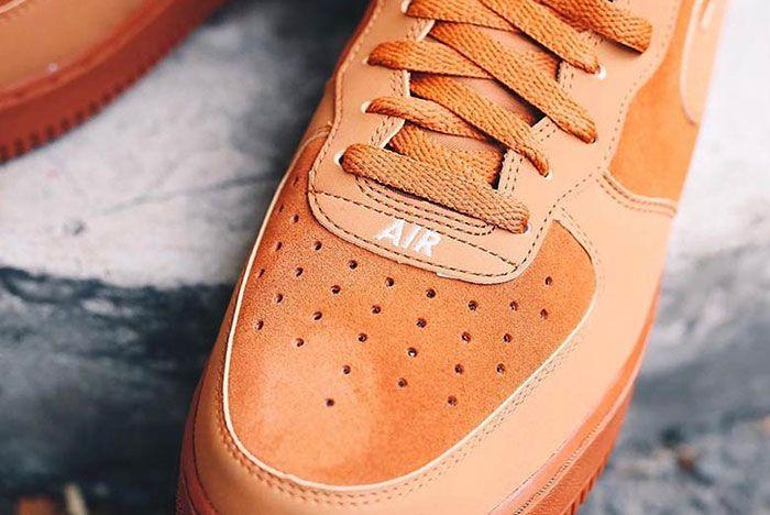 Nike Air Force 1 Mid Orange 315123 207 1 Sneaker Freaker