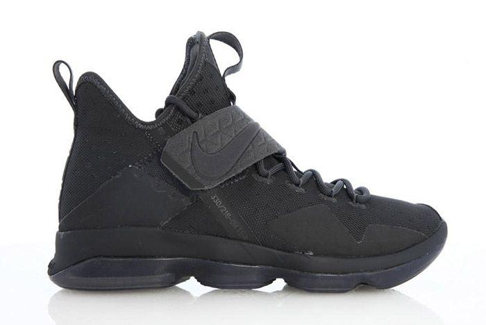 Nike Lebron 14 Triple Black 1