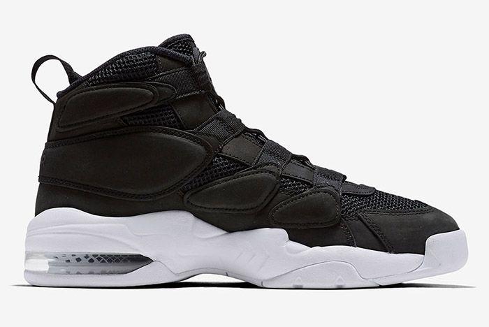 Nike Air Max Uptempo 2 Black White 5