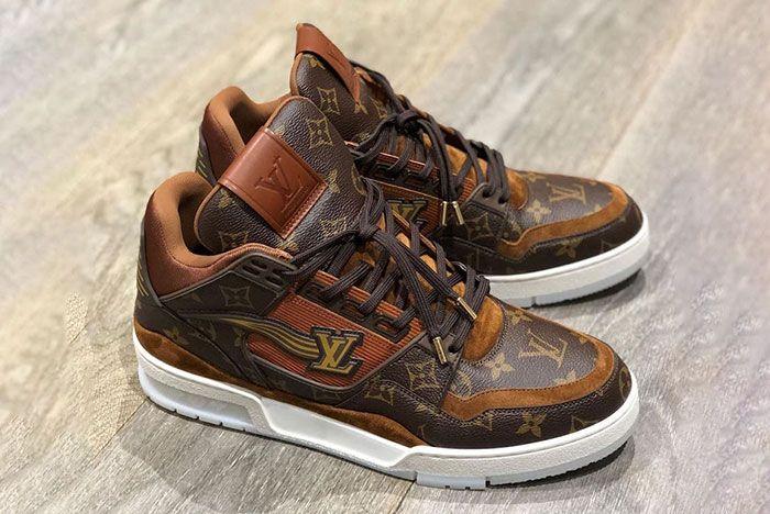 Virgil Abloh Louis Vuitton Sneaker 2020 Release Date Leaked Shots