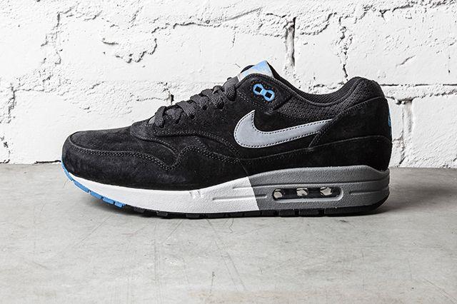 Nike Air Max 1 Premium Black N Blue 1
