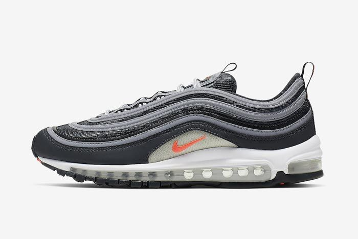 Nike Air Max 97 Anthracite Crimson Lateral