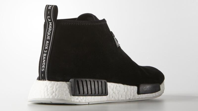 Adidas Chukka Boost Black 1