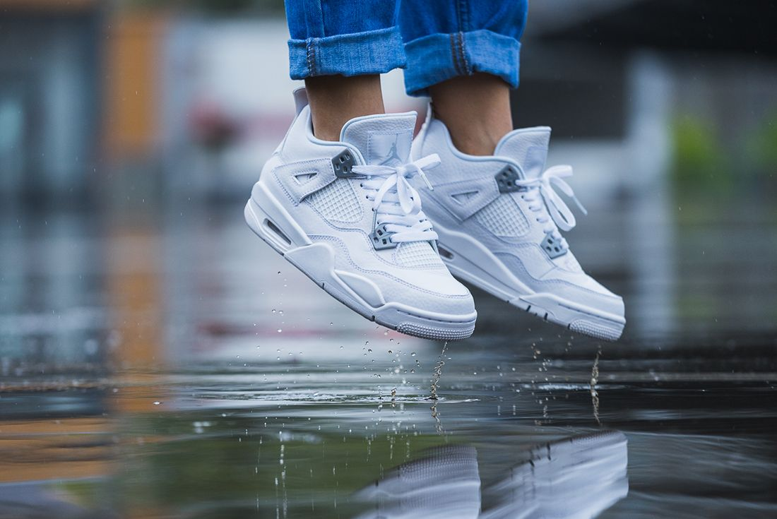 Up Close With The Air Jordan 4 Pure Money8