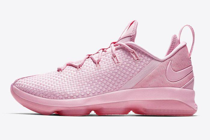 Nike Lebron14 Low Prism Pink 5
