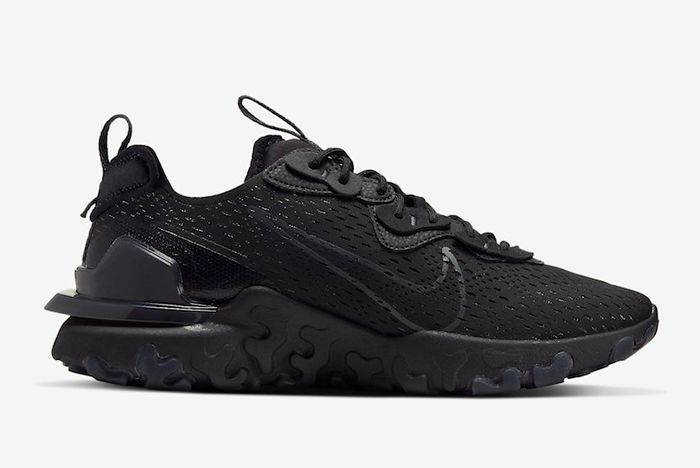 Nike React Vision Black Anthracite Lateral Inside