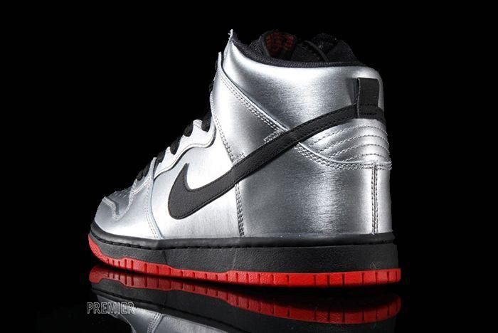 Nike Sb Dunk High Metallic Silver5