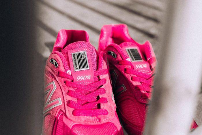 New Balance 990 V4 Komen Pink 5