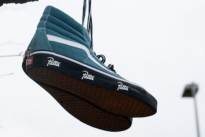Patta X Vans Sk8 Hi Sneaker Freaker 4