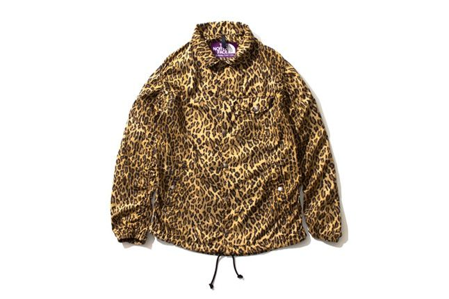 The North Face Purple Label Leopard Print Collection 2013 Jacket 1