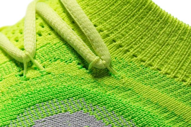 Nike Free Flyknit Neon Midfoot Detail