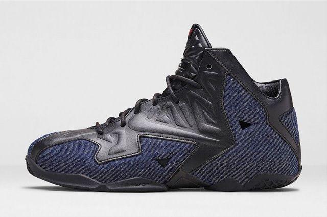 Nike Lebron 11 Ext Denim 5