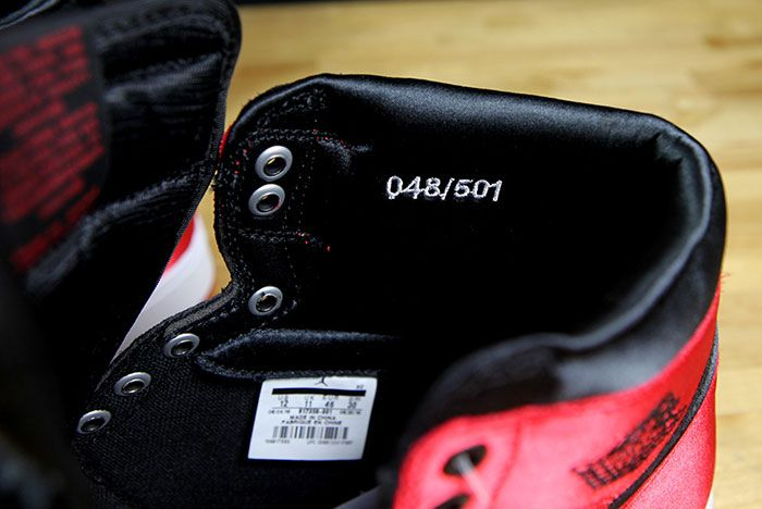 Air Jordan 1 Satin Bred 13