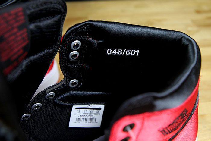 Air Jordan 1 Satin Bred 13