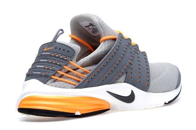 Nike Lunar Presto Stratagrey Orange Heel Profile 1