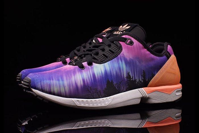 Adidas Zx Flux Decon Aurora Borealis 2