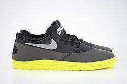 Nike Sb Lunar Oneshot Black Reflect Silver Volt Dp