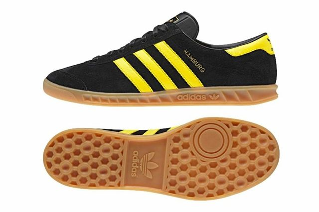 Adidas Hamburg Black Yellow 1