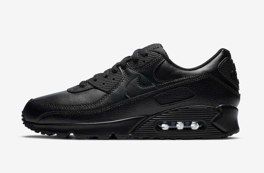 Nike Air Max 90 Triple Black Left