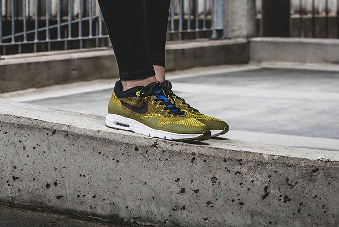 Nike Air Max 1 Ultra Flyknit Wmns Olive 11